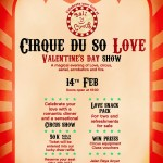 Cirque Du So Love at Bali Circus