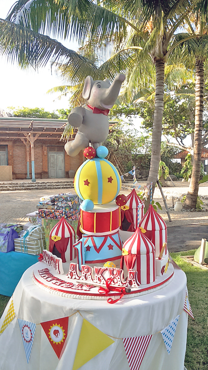 circus birthday cake bali Bali Circus together we can do so much