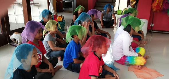Childrens Party in Bali
