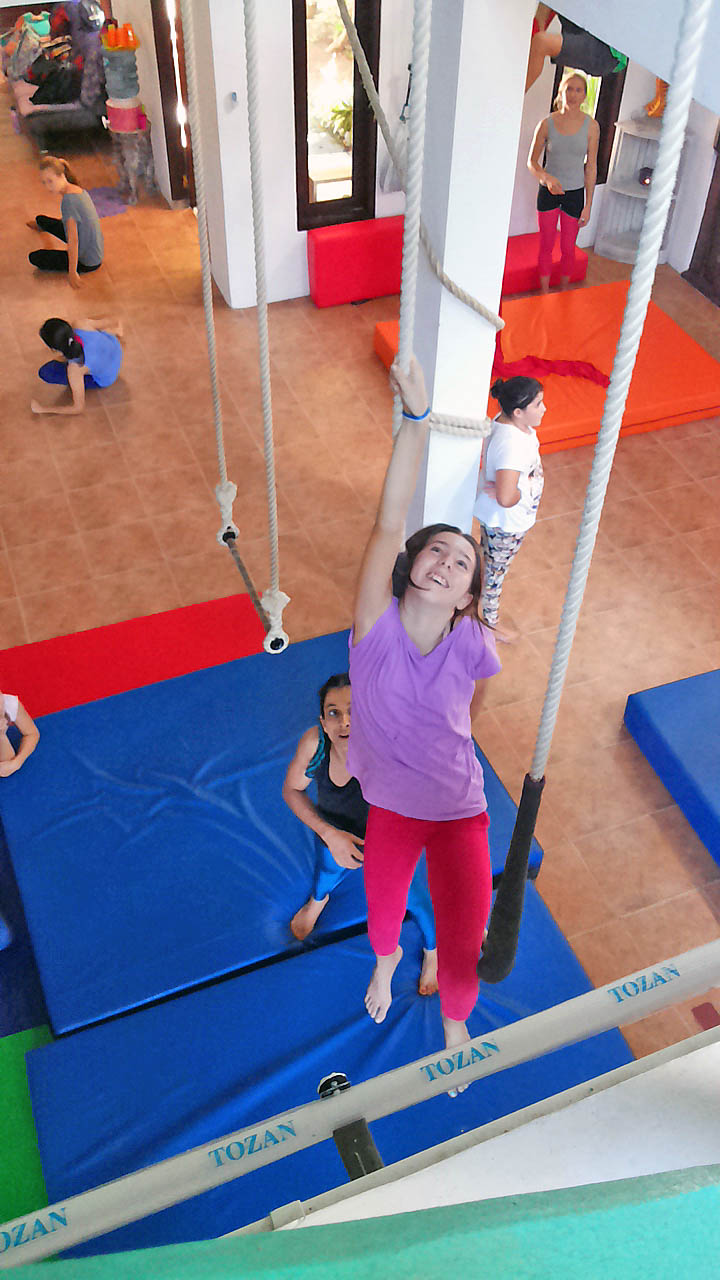 Girl on Trapeze 3