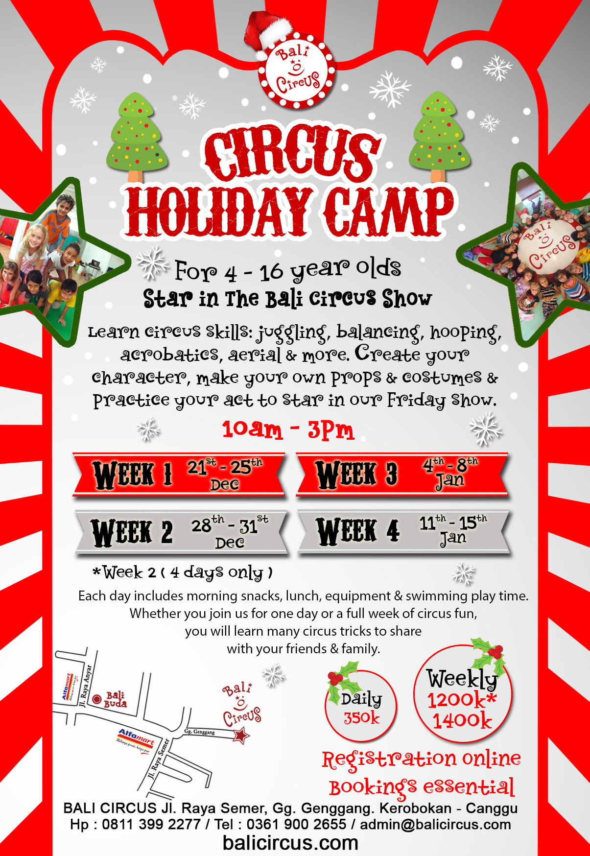 Circus Holiday Camp Dec 2015 - Jan 2016 (Upload)