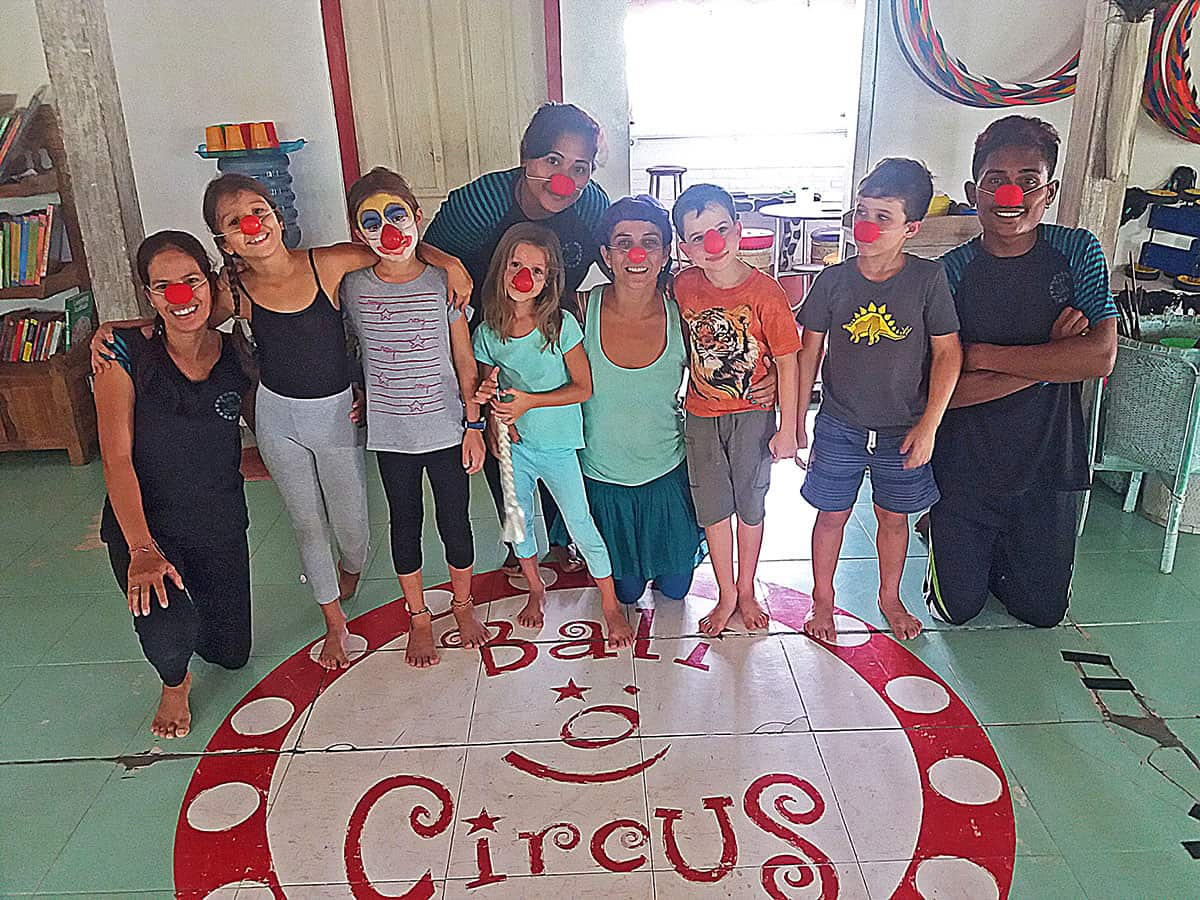Bali Circus Saturday Club Group Photo